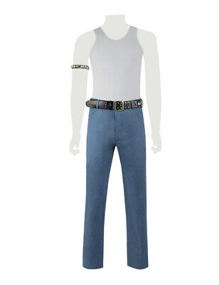 Freddie Mercury Cosplay Costume Men's Full Set Armband Belt](Freddy Mercury Costumes)