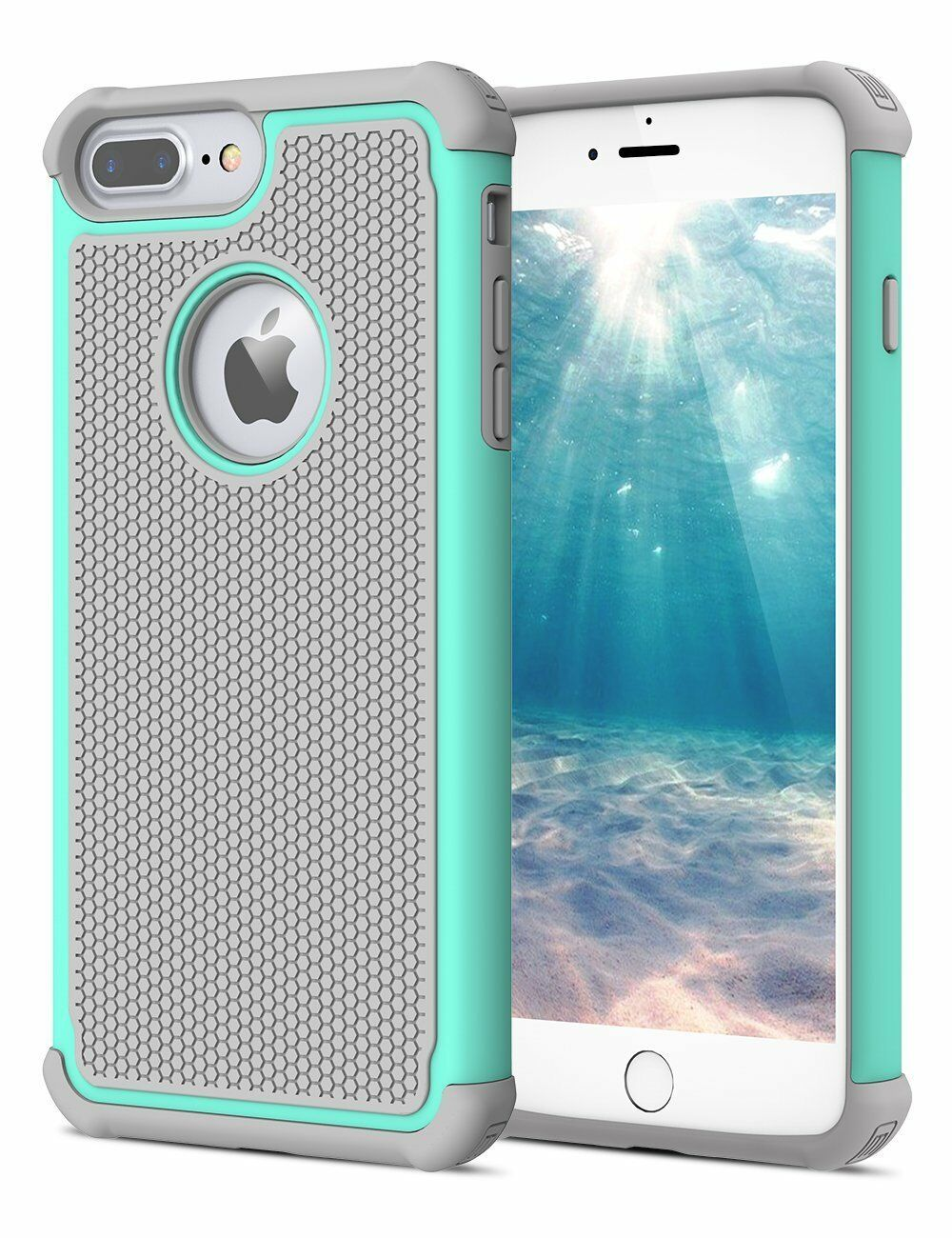 For iPhone 5 SE 6S 8 7 Plus Phone Case Hybrid Shockproof Armor Hard Cover