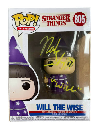 Stranger Things Will The Wise Funko Pop Signed by Noah Schnapp 100% With COA