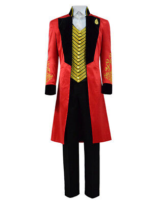 Boys Ringmaster Full Set Costume for Show Halloween Party Kids Dress Up (Ringmaster Costume Child)