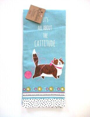 Kay Dee Designs - Tea Towel - Cattitude - NWT