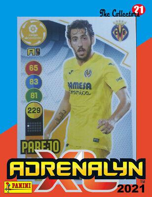 PAREJO #355 VILLARREAL CF. ADRENALYN 2020-21 CARD PANINI