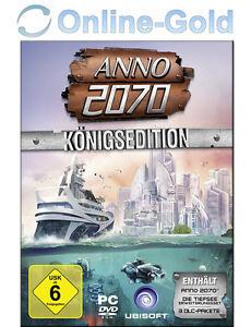 ANNO 2070 - Königsedition Key mit Ubisoft Download Manager [PC] [DE]