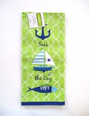 Kay Dee Designs - Tea Towel - Saltwater Fishing - NWT