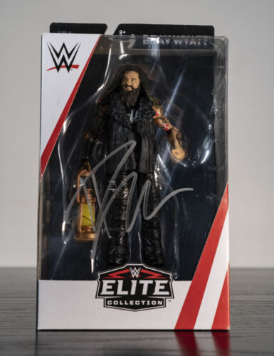Signed Bray Wyatt WWE Elite Action Figure 100% Authentic comes with COA