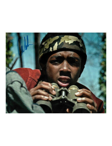 Stranger Things Print Signed By Caleb McLaughlin 100% Authentic With COA