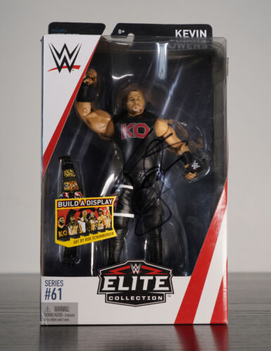 Signed Kevin Owens WWE Elite Action Figure 100% Authentic comes with COA