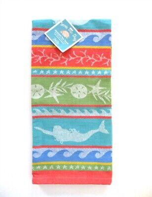 Kay Dee Designs - Jacquard Tea Towel - Seas the Day - NWT