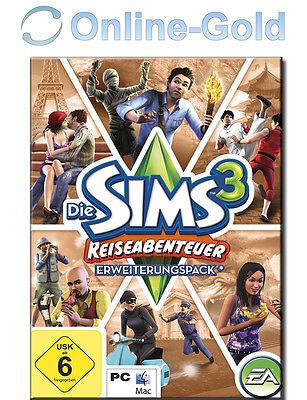 Sims 3 - World Adventures Key / Reiseabenteuer EA/ORIGIN Download Code Addon PC