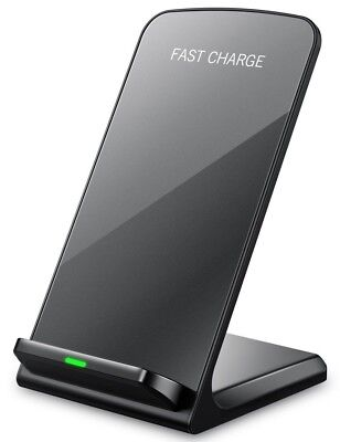 Seneo iPhone X Wireless Charger, 10W Fast Wireless Charger Charging Pad Stand