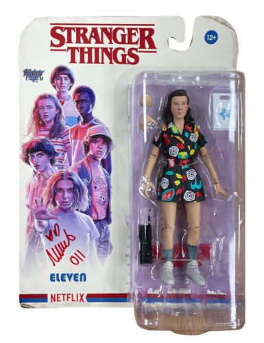 Stranger Things S3 Eleven Figure Signed by Millie Bobby Brown 100% With COA