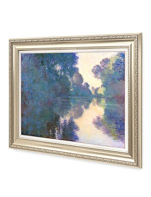 Giverny, Monet-museum (DecorArts Morning on the Seine near Giverny Claude Monet Museum Quality Framed)