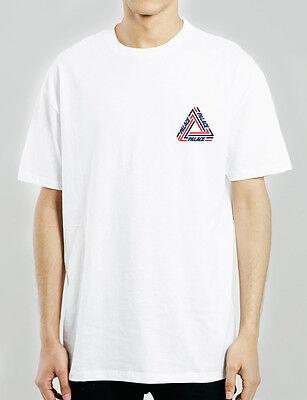Palace Tri Crib White T Shirt  Usa Stock