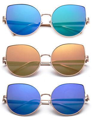 Cat Eye Sunglasses Designer Eyewear High Quality Fashion Shades Colorful (High Quality Designer Sunglasses)