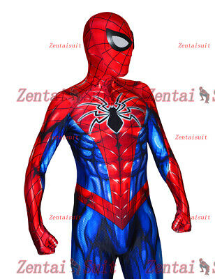 Spider-Man Costume All-New Spiderman Superhero Costumes Spandex Cosplay Suit