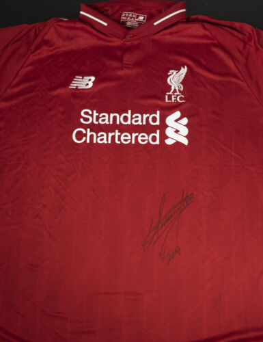 Official Liverpool FC Shirt Signed By The Undertaker 100% Authentic with COA