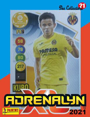 KUBO #356 VILLARREAL CF. ADRENALYN 2020-21 CARD PANINI