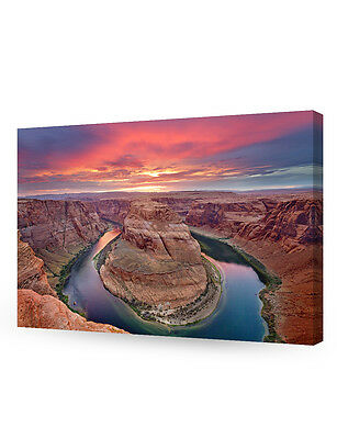 Horseshoe Bend  Grand Canyon  Arizona  Giclee Canvas Prints For Wall Decor
