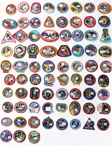 Lot of 75 NASA STS Shuttle Mission Astronaut Space Patches - Best Buy