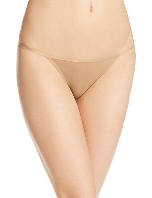 Calvin Klein Womens Sleek String Bikini Panty   D3510