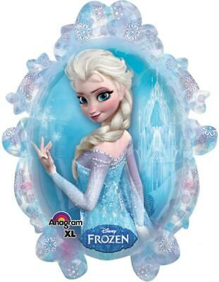 Disney Frozen Birthday 5 Balloons Bouquet Ams