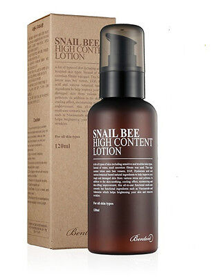 [Benton] Snail Bee High Content Lotion 120ml (Renew)  - Korea Cosmetics