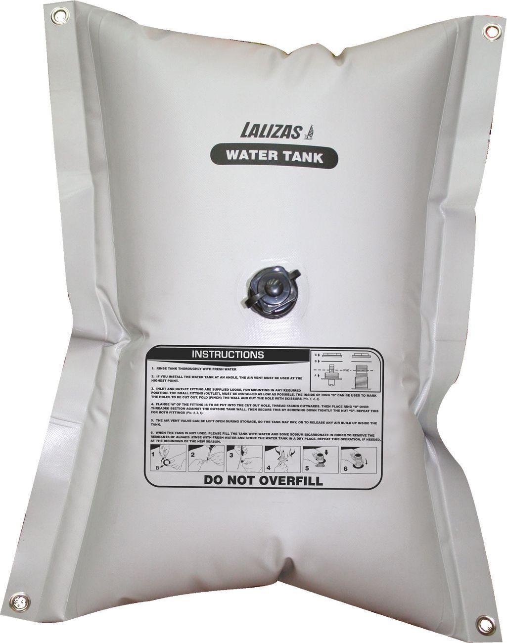 Lalizas/ Nuova Rade Flexibler Wassertank rechteckig 55 - 200 Liter