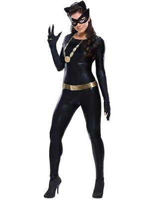 Damen Kostüm Woman Catsuit Katze Cat Wetlook Gr. S 34 36 ()