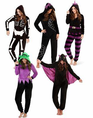 Kinder Mädchen Jungen Jumpsuit Halloween Fasching Karneval Kostüm Einteiler