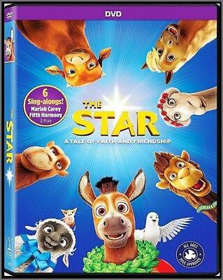 THE STAR (DVD, 2018) BRAND NEW US Seller!!!