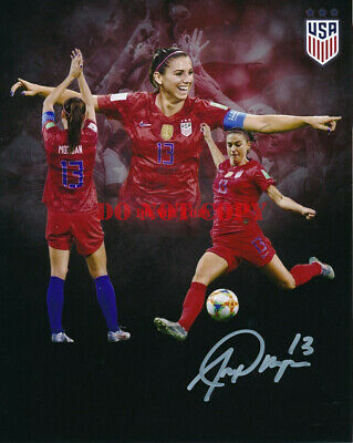 Alex Morgan US Women's Soccer Signed Autographed 8x10 Photo reprint Us Womens Soccer 8x10 Photo