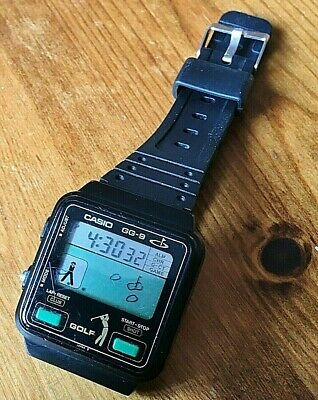 1980s V.Rare CASIO GG-9 Game Vintage Golf Watch. Fully Working. Mod 227