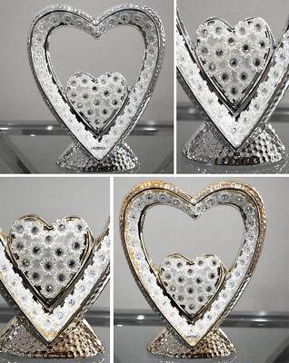 ITALIAN HEART FIGURINE HOME DECOR GIFT ANNIVERSARY VALENTINES DAY PRESENT