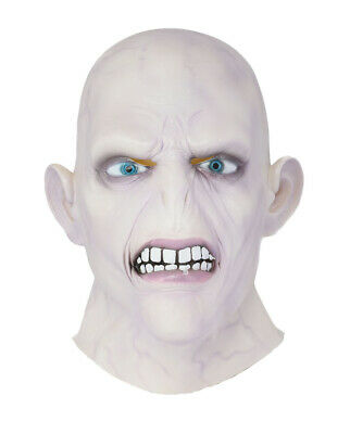 Lord Voldemort Cosplay Mask Replica Costume Props Adult Halloween Full Head Cool - Cool Harry Potter Halloween Costumes