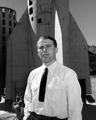 Wernher von Braun German V-2 Rocket PHOTO US Space Program White Sands NM for sale  Granite City