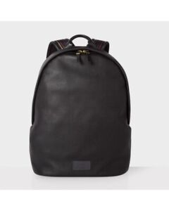 Paul Smith Leather backpack 100% Authentic