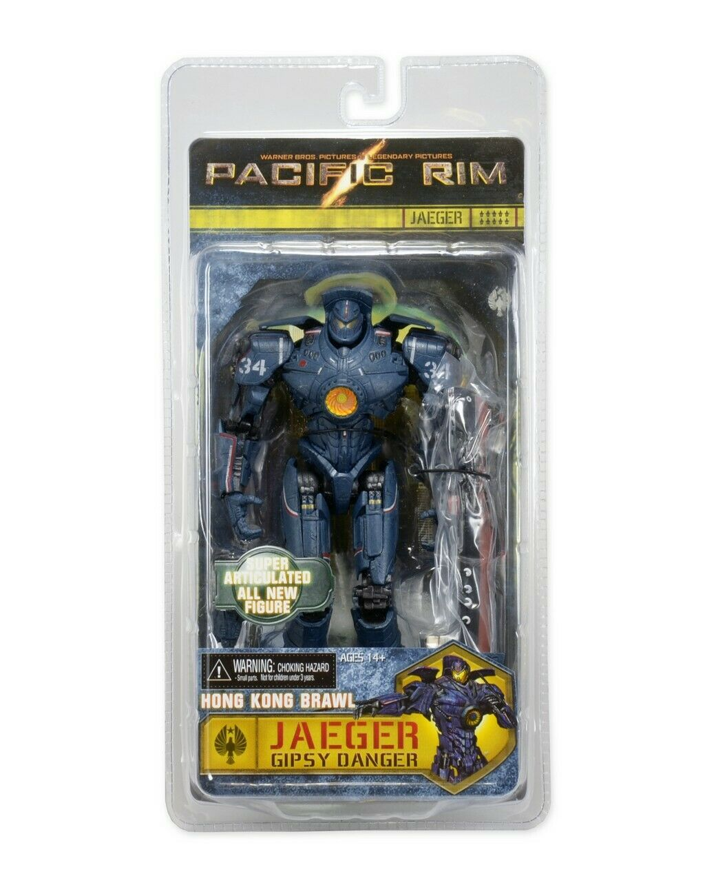 Pacific Rim Series 4 Jaeger Gipsy Danger 2.0 Action Figure  Hong Kong Brawl Edit Action Figures