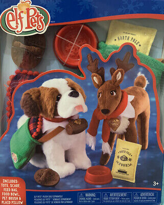Elf Pets Good Tidings Toy Tote and Scarf Set NEW in Package The Elf on The Shelf