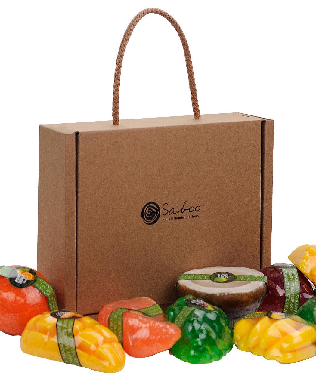 Saboo All Natural Handmade Organic Fruit Scented Glycerin...