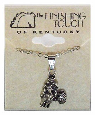 Finishing Touch Barrel Racer Fashion Necklace - Silver -
