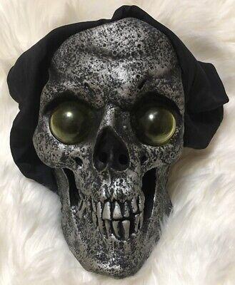 Rare 1999 Paper Magic Group Goggle Eye Skull Halloween Mask