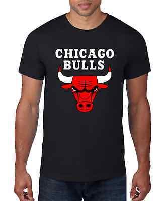 T-SHIRT MAGLIA NBA BASKET CHICAGO BULLS NERA VINTAGE IDEA REGALO VINTAGE 1a3ef7fd514a