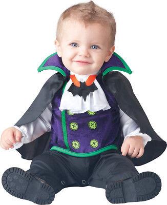 Count Cutie Dracula Vampire Infant Toddler Costume - Toddler Vampire Costumes