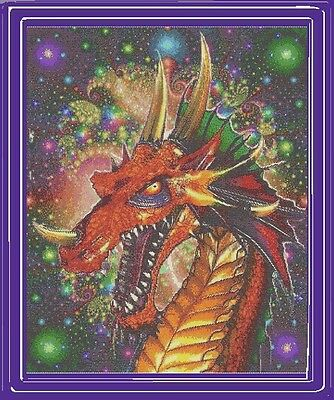 COSMOS DRAGON~DELICA BEAD PEYOTE PATTERN