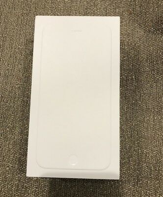 Apple iPhone 6 Plus 64GB Space Gray Empty White BOX ONLY (Excellent Condition)