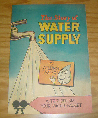 The Story Of Water Supply  1 Vf American Water Works Association 1969 Education