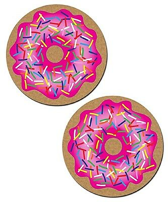 Donut with Pink Icing and Rainbow Sprinkles Nipple Pasties by Pastease