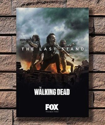 Y84 The Walking Dead Season 8 AMC TV Series - Print Poster Art - 12x18 24x36In