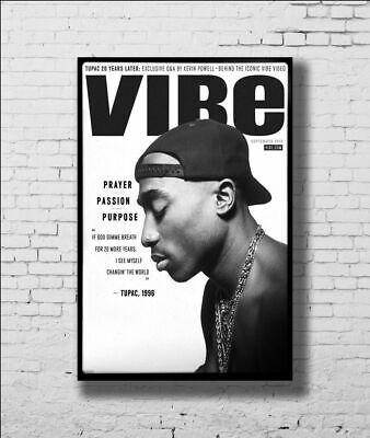 New Tupac Shakur 2Pac Custom Poster Print Art Decor T-377