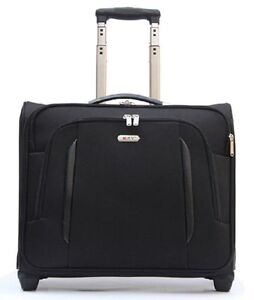 2 Wheel Spinner Laptop Rolling Trolley Cabin Case Business Briefcase Office Bag